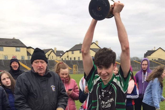 St Cuan's Castleblakeney win Senior D Football Final