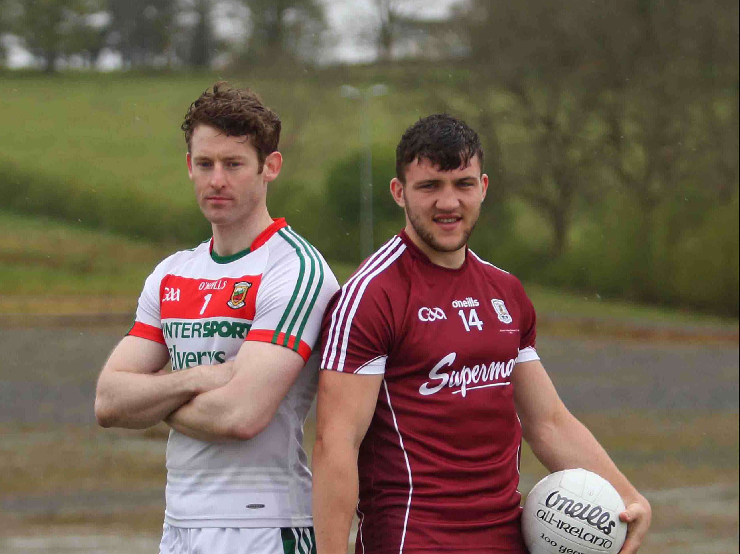 Galway and Mayo name Teams for Sunday's Clash