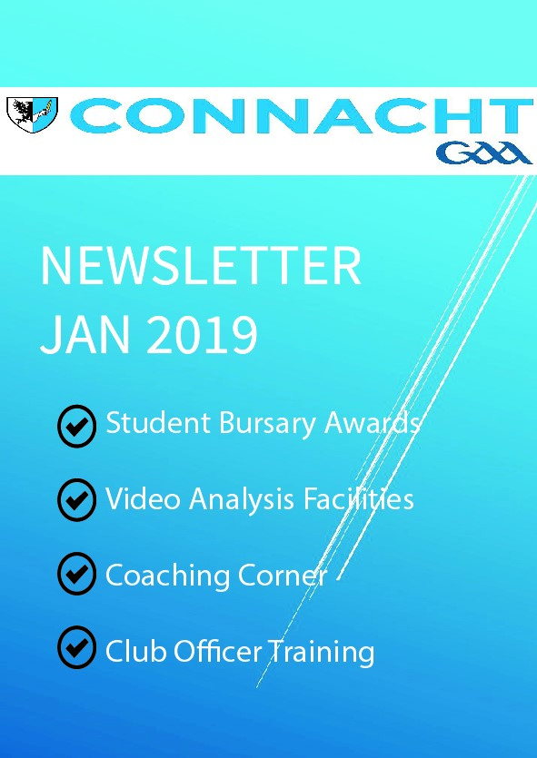 Connacht GAA Newsletter for January Published