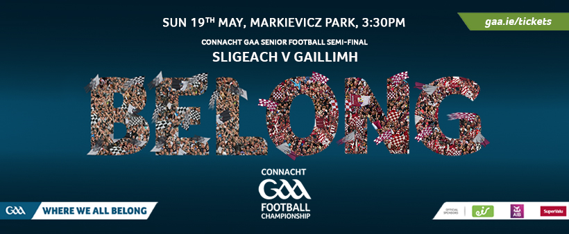 Sligo V Galway Ticketing Information