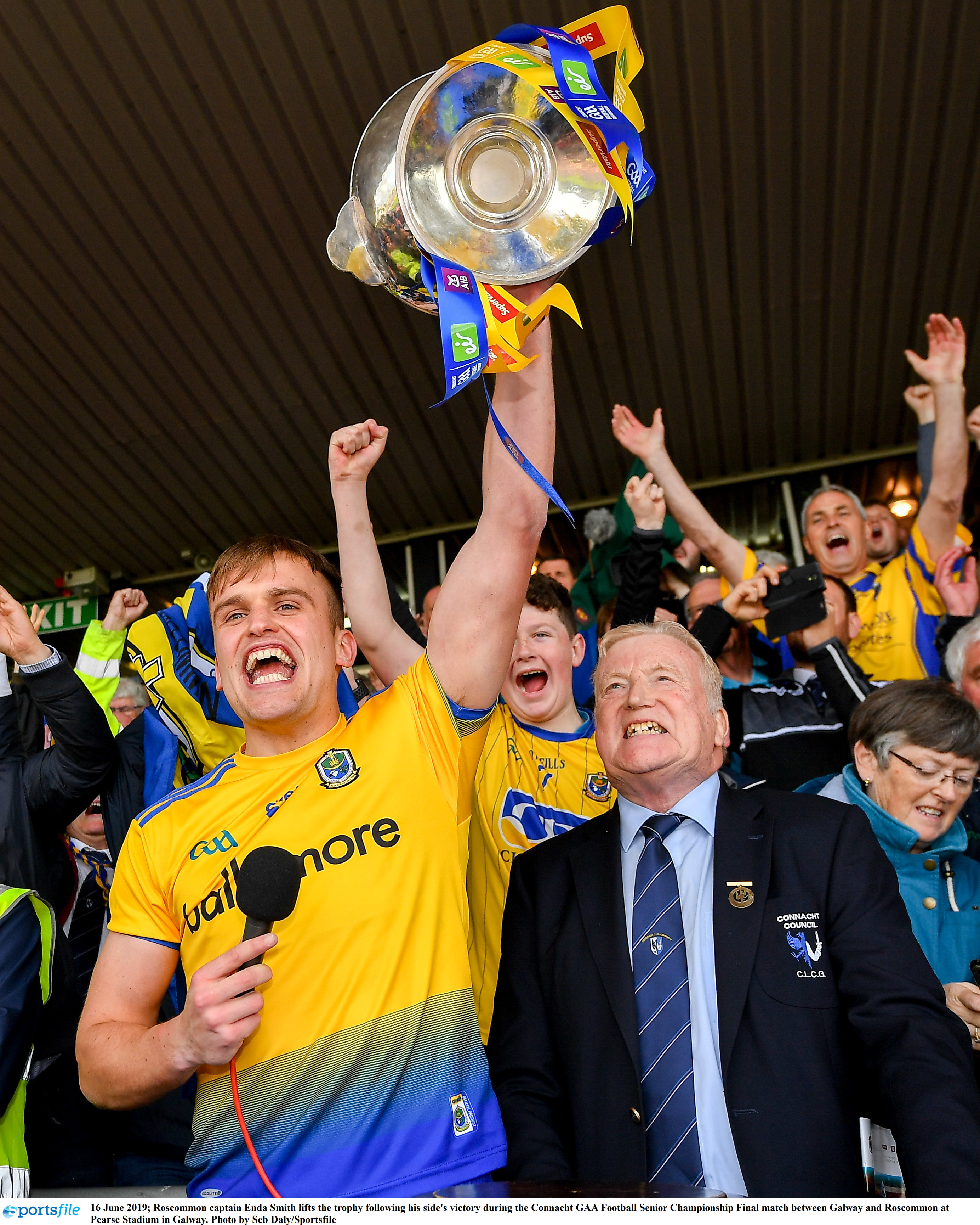 Roscommon Are 2019 Connacht SFC Champions!