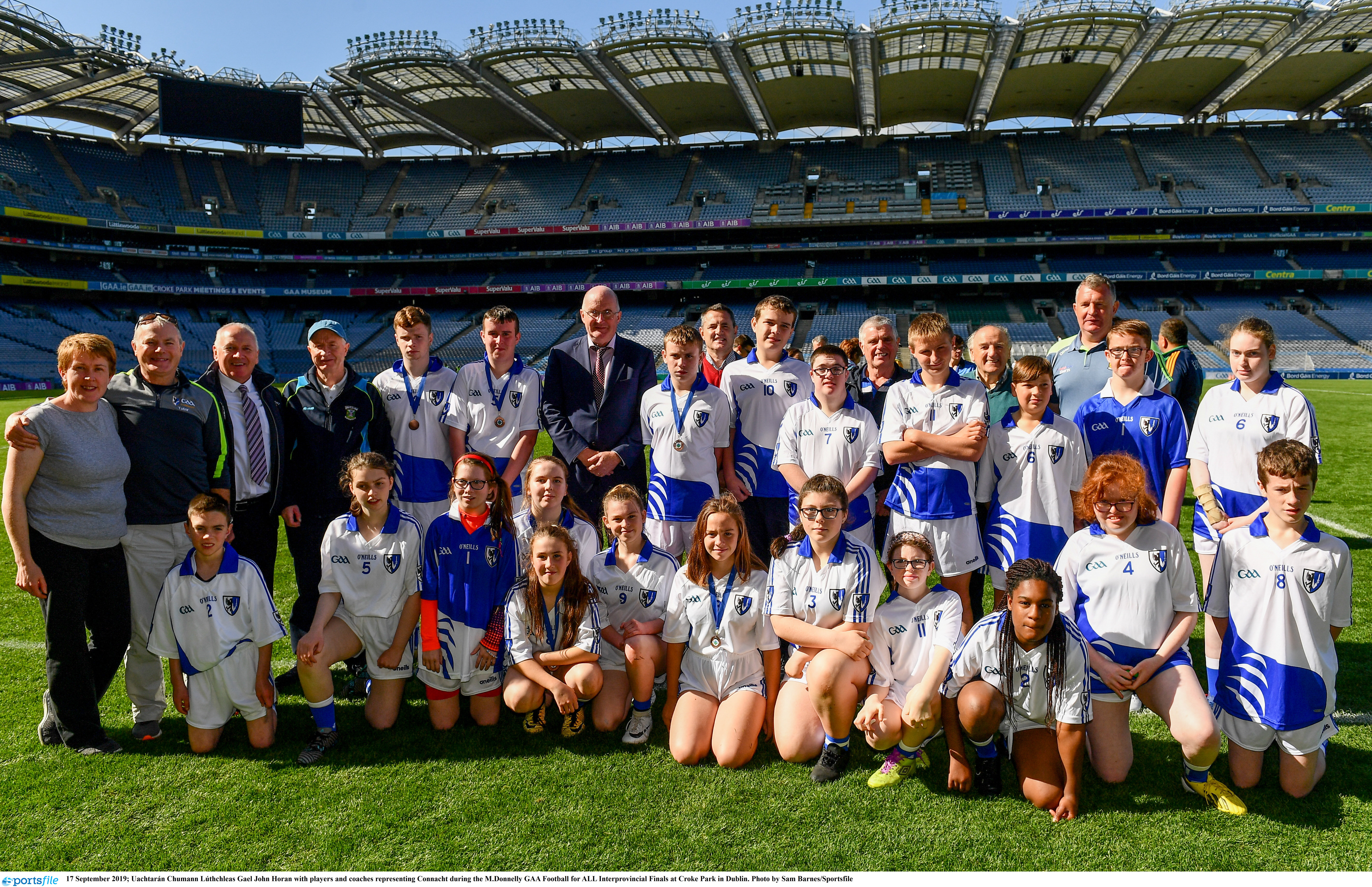Connacht Represented at Football For All Interprovincial Finals In Croke Park