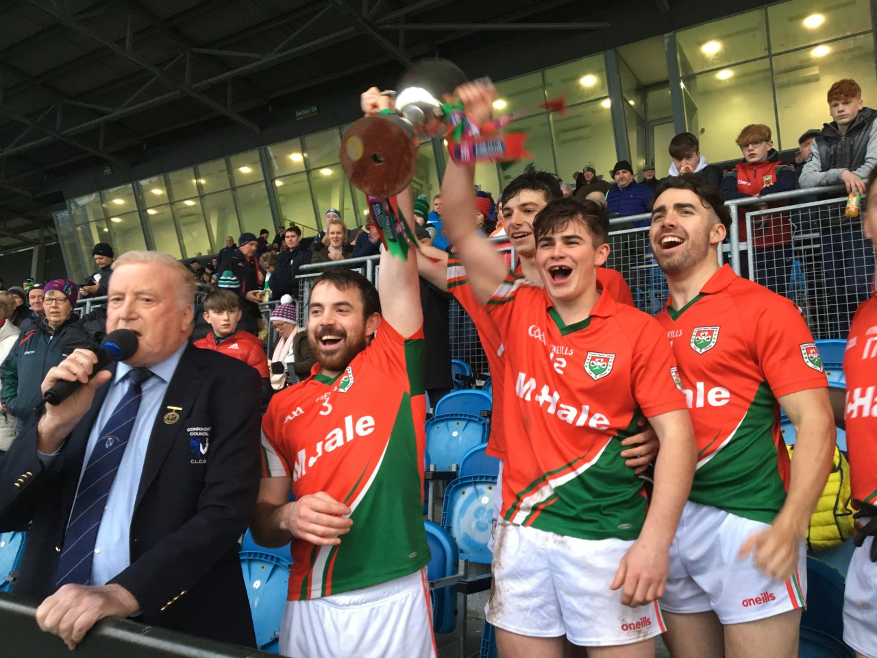 Kilmaine Are Connacht Junior Club Champions for 2019!
