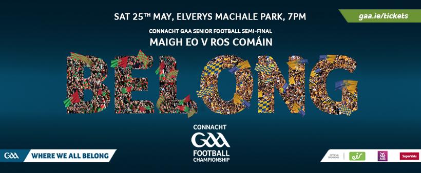 Mayo V Roscommon Ticket Information